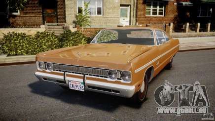 Plymouth Fury III Coupe 1969 pour GTA 4