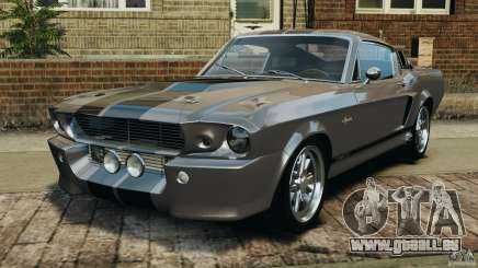 Shelby Mustang GT500 Eleanor 1967 v1.0 [EPM] pour GTA 4