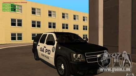 Chevrolet Tahoe SAPD pour GTA San Andreas