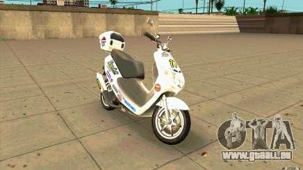 Suzuki Addres für GTA San Andreas