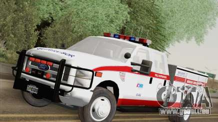 Ford F-350 AMR Supervisor pour GTA San Andreas