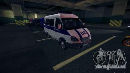 Gazelle 2705 Police pour GTA San Andreas