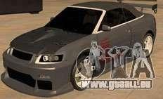 AUDI A4 Cabriolet pour GTA San Andreas