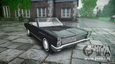 Ford Mercury Comet Caliente Sedan 1965 pour GTA 4