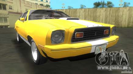 Ford Mustang Cobra 1976 pour GTA Vice City