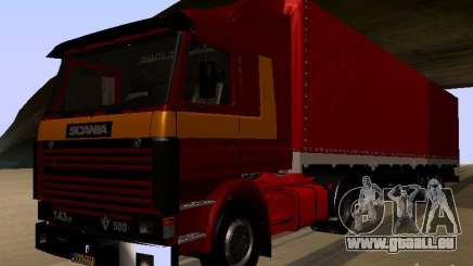 Scania 143M für GTA San Andreas