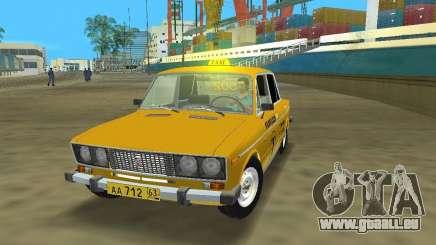 VAZ 2106 Taxi v 2.0 pour GTA Vice City