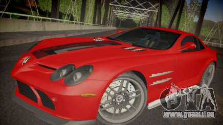 Mercedes-Benz SLR 722 Custom Edition pour GTA San Andreas