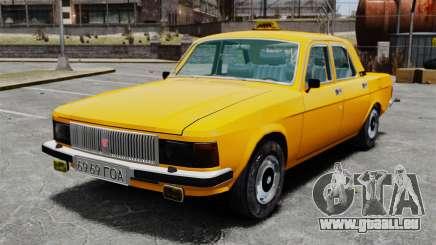 Taxi gaz-3102 pour GTA 4
