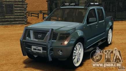 Nissan Frontier DUB v2.0 pour GTA 4