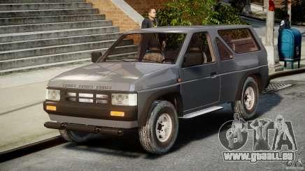 Nissan Terrano pour GTA 4