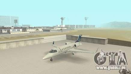 Bombardier Leardjet 45XR für GTA San Andreas