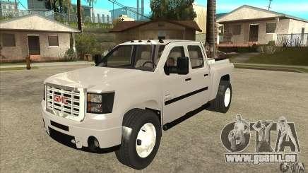 GMC 3500 HD Sierra Duramax Diesel 2010 für GTA San Andreas