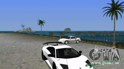 Lamborghini Murcielago LP670-4 SV für GTA Vice City