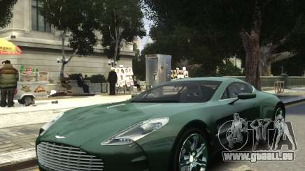 Aston Martin One 77 2012 für GTA 4