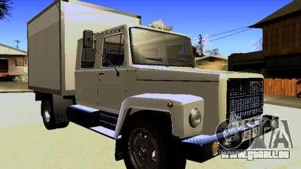 GAZ 3309 Huntsman pour GTA San Andreas