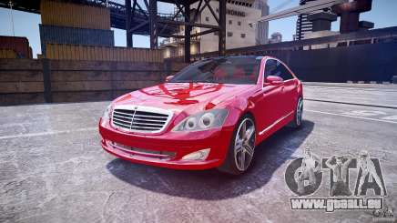 Mercedes Benz w221 s500 v1.0 cls amg wheels für GTA 4