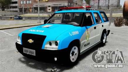 Chevrolet Blazer 2010 PMERJ ELS pour GTA 4