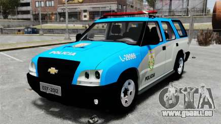 Chevrolet Blazer 2010 PMERJ ELS für GTA 4