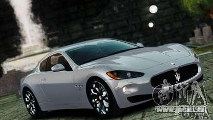 Maserati Gran Turismo S 2009 pour GTA 4