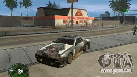 Ghost Vynyl für Elegy für GTA San Andreas