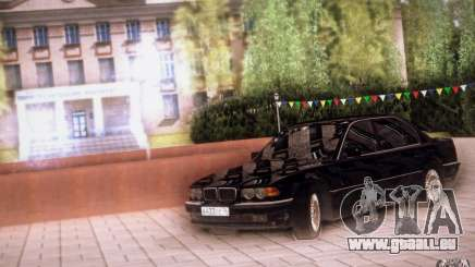 BMW 750i E38 2001 für GTA San Andreas