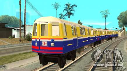 Liberty City Train Italian pour GTA San Andreas