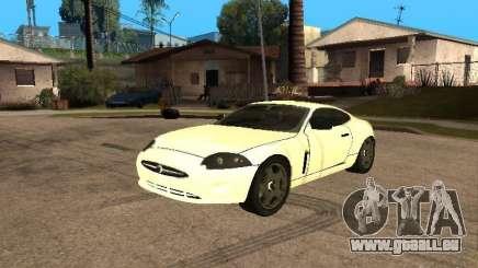 Jaguar XK blanc pour GTA San Andreas