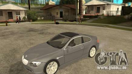 BMW 645Ci 04 pour GTA San Andreas