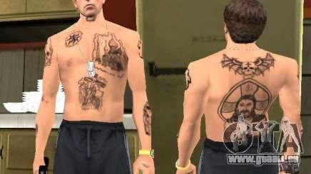Tatouages Blatnye pour GTA San Andreas