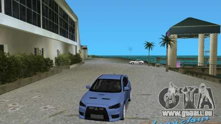 Mitsubishi Lancer Evo X pour GTA Vice City
