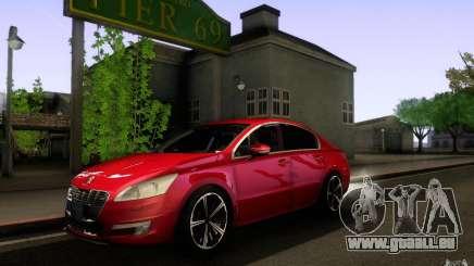 Peugeot 508 2011 für GTA San Andreas