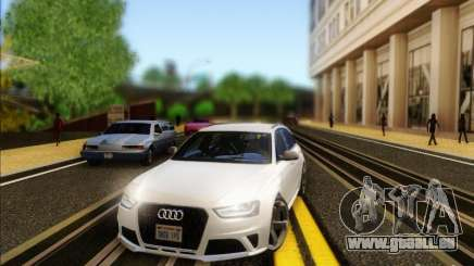 Audi RS4 Avant B8 2013 pour GTA San Andreas