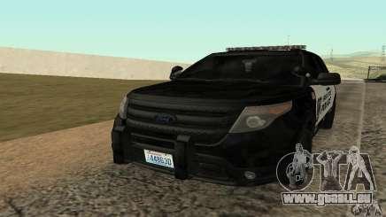Ford Police Interceptor Utility 2011 pour GTA San Andreas