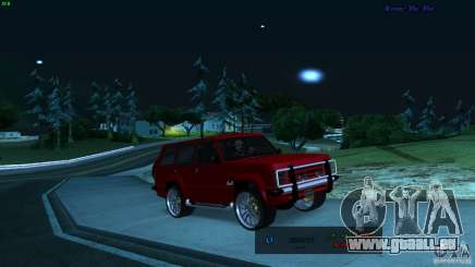 FBI Huntley 4x4 für GTA San Andreas