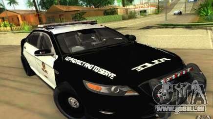 Ford Taurus 2011 LAPD Police für GTA San Andreas