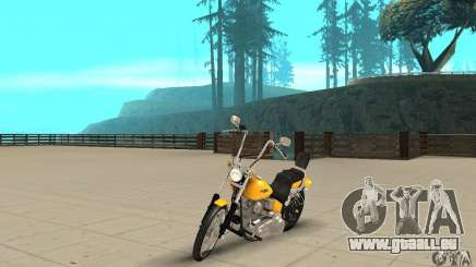 Harley Davidson softail Skin 1 pour GTA San Andreas