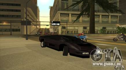 Dodge M4S Turbo Interceptor Wraith 1984 pour GTA San Andreas