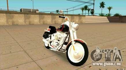 Harley Davidson FatBoy (Terminator 2) für GTA San Andreas