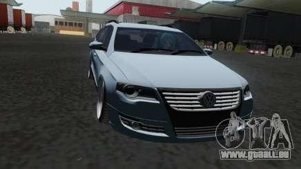 Volkswagen Passat B6 Variant Stance 2007 für GTA San Andreas