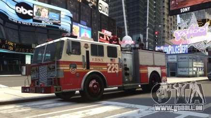 Fire Truck FDNY pour GTA 4