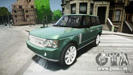 Range Rover Supercharged v1.0 pour GTA 4