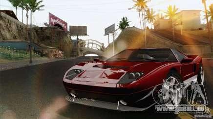 Bullet GT from TBOGT für GTA San Andreas