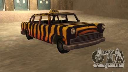 Zebra Cab von Vice City für GTA San Andreas