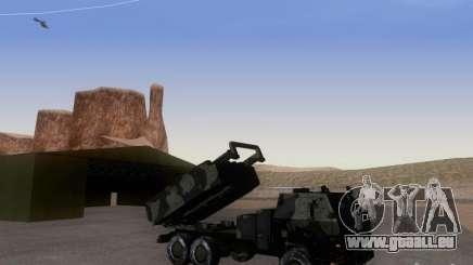 M142 HIMARS Artillery für GTA San Andreas