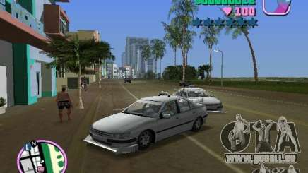 Peugeot 406 Taxi für GTA Vice City
