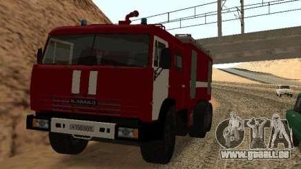 KAMAZ 53229 pompier pour GTA San Andreas