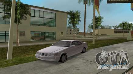 Mercedes-Benz 600SEC (C140) 1992 pour GTA Vice City