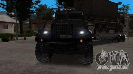 KrAZ 255 + remorque artict2 pour GTA San Andreas