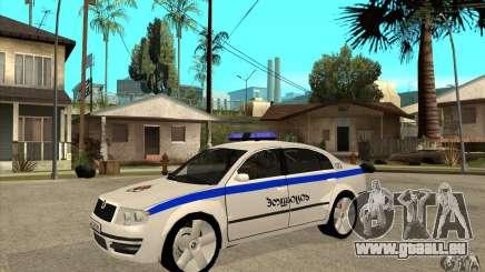 Skoda SuperB GEO Police für GTA San Andreas